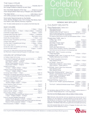Celebrity Today   Rome   Day 1   Page 4