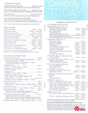 Celebrity Today   At Sea   Day 11   Page 4