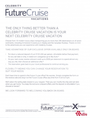 Celebrity Today   At Sea   Day 11   Page 9