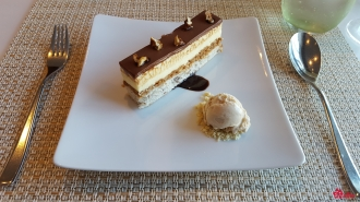 29.05.2017 | Lunch | White Chocolate Macadamia Cake