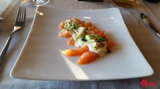 03.06.2017 | Dinner | Salmon Sashimi