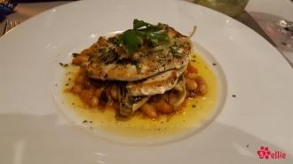 08.06.2017 | Dinner | Herb Crusted Swordfish