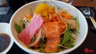 Sashimi Mixed Green Salad