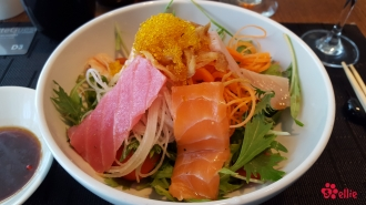 Sashimi Mixed Green Salad