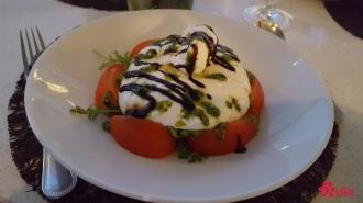 Tomato Burrata Caprese Salad